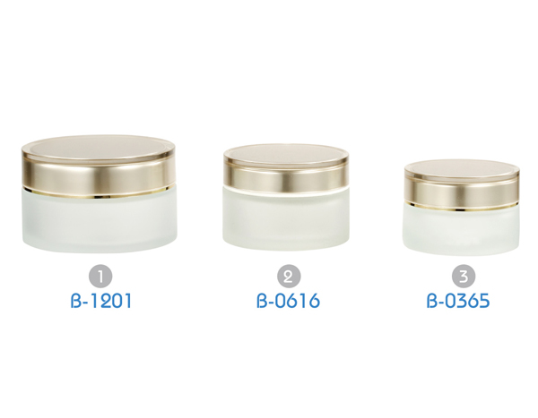 Glass Jars Series B Cosmetic Jars Bottle Container Glass Lotion Jars Supplier Lays Cosmetic